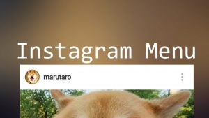 Instagram_memu